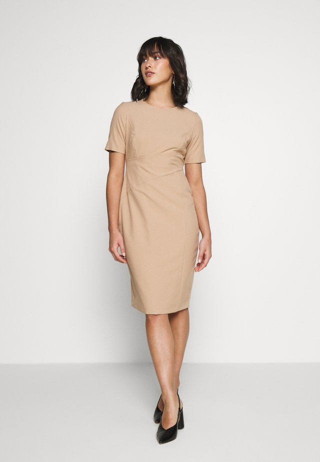 Shift dress - light brown