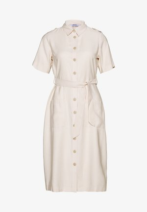 PETITES SHIRT DRESS - Shirt dress - stone