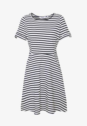 SPOT DRESS - Vestito di maglina - navy