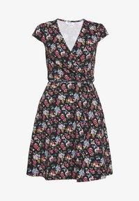 Dorothy Perkins Petite - DITSY DRESS - Žerzejové šaty - black - 3