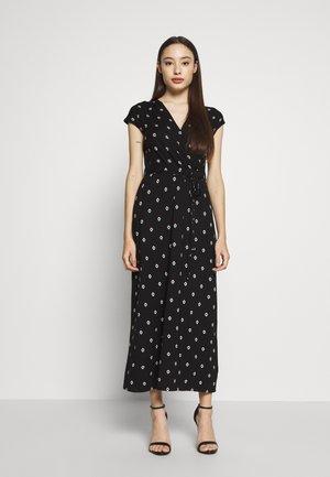 GEO WRAP MAXI DRESS  - Vestido largo - black