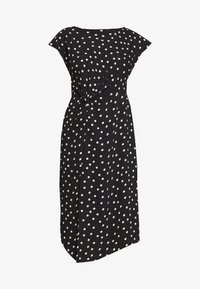 Dorothy Perkins Petite - SPOT DRESS - Denní šaty - black - 5