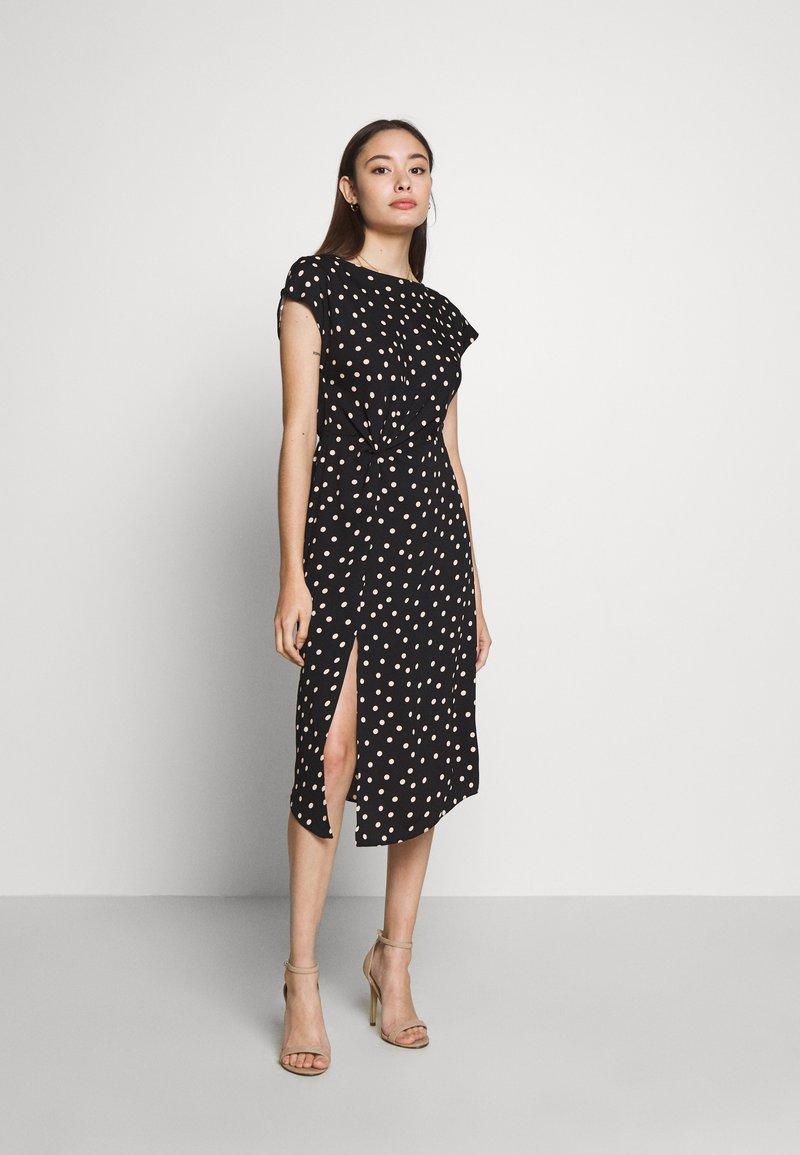 Dorothy Perkins Petite - SPOT DRESS - Denní šaty - black