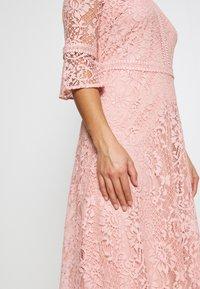 Dorothy Perkins Petite - BLUSH 3/4 SLEEVE TILLY DRESS - Juhlamekko - pink - 6