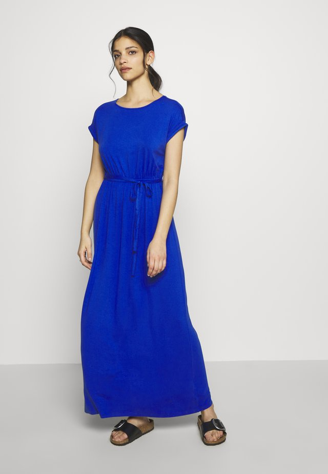 ROLL SLEEVE DRESS - Maxi-jurk - cobalt