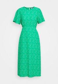 Dorothy Perkins Petite - DITSY EMPIRE DRESS - Sukienka letnia - green - 4
