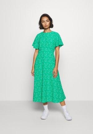 DITSY EMPIRE DRESS - Denní šaty - green