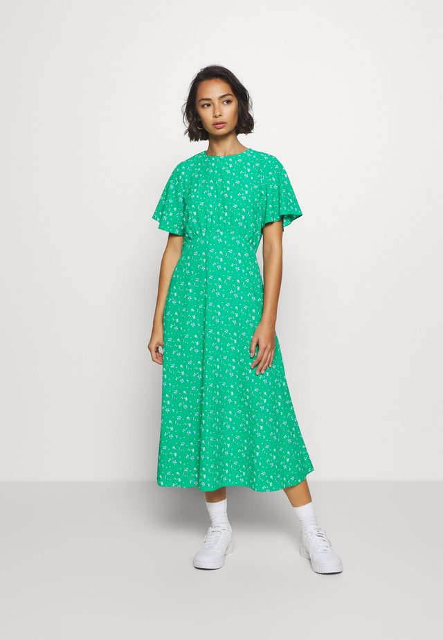 DITSY EMPIRE DRESS - Korte jurk - green