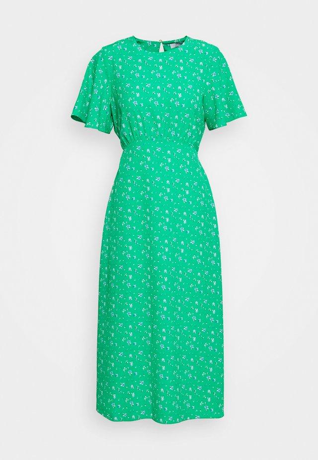 DITSY EMPIRE DRESS - Hverdagskjoler - green