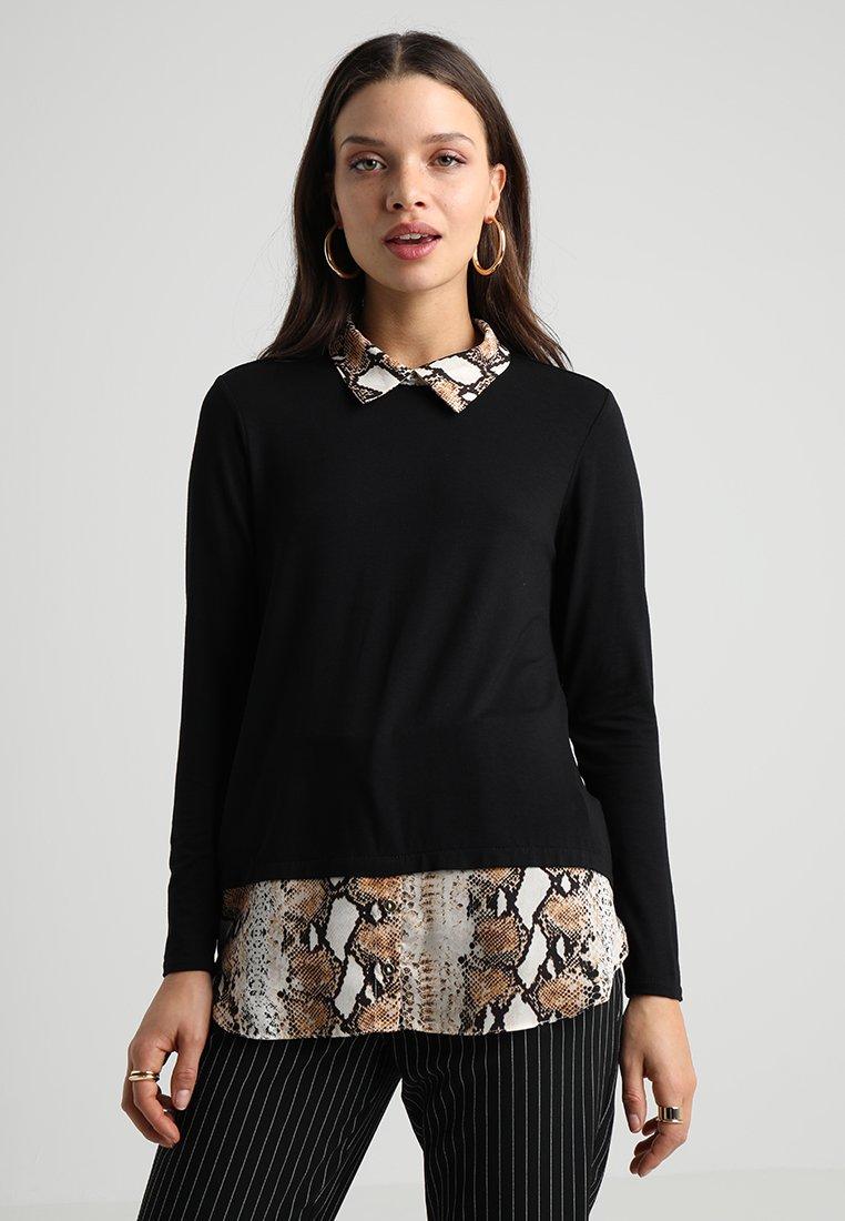 Dorothy Perkins Petite - CUT SEW SNAKE - Langærmede T-shirts - multi