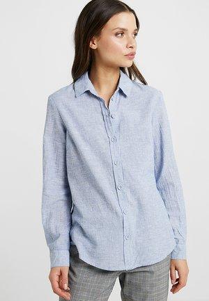 CHAMBRAY  - Button-down blouse - blue