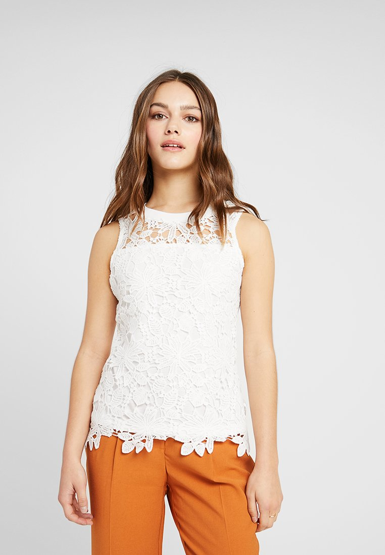 Dorothy Perkins Petite - SHELL - Bluse - ivory