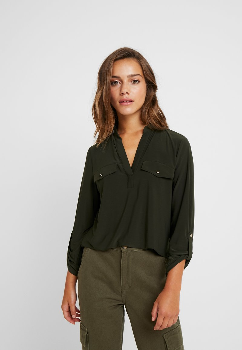 Dorothy Perkins Petite - ITY - Long sleeved top - khaki
