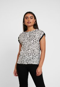 Dorothy Perkins Petite - NON ANIMAL PRINT FRONT BACK - Blouse - ivory - 0