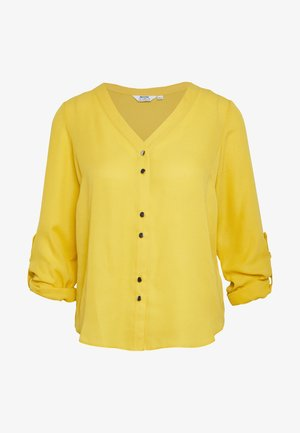 ROLL SLEEVE - Blouse - ochre