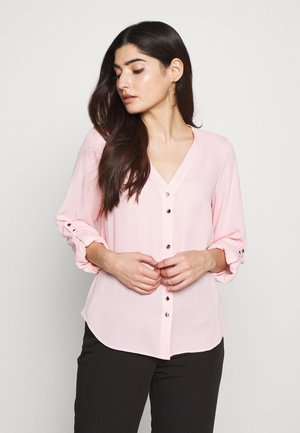 ROLL SLEEVE - Bluser - pink