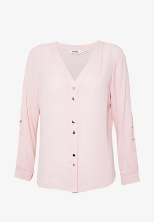 ROLL SLEEVE - Blouse - pink