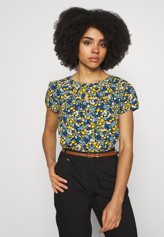 BILLIE DITSY FLORAL - Blouse - blue