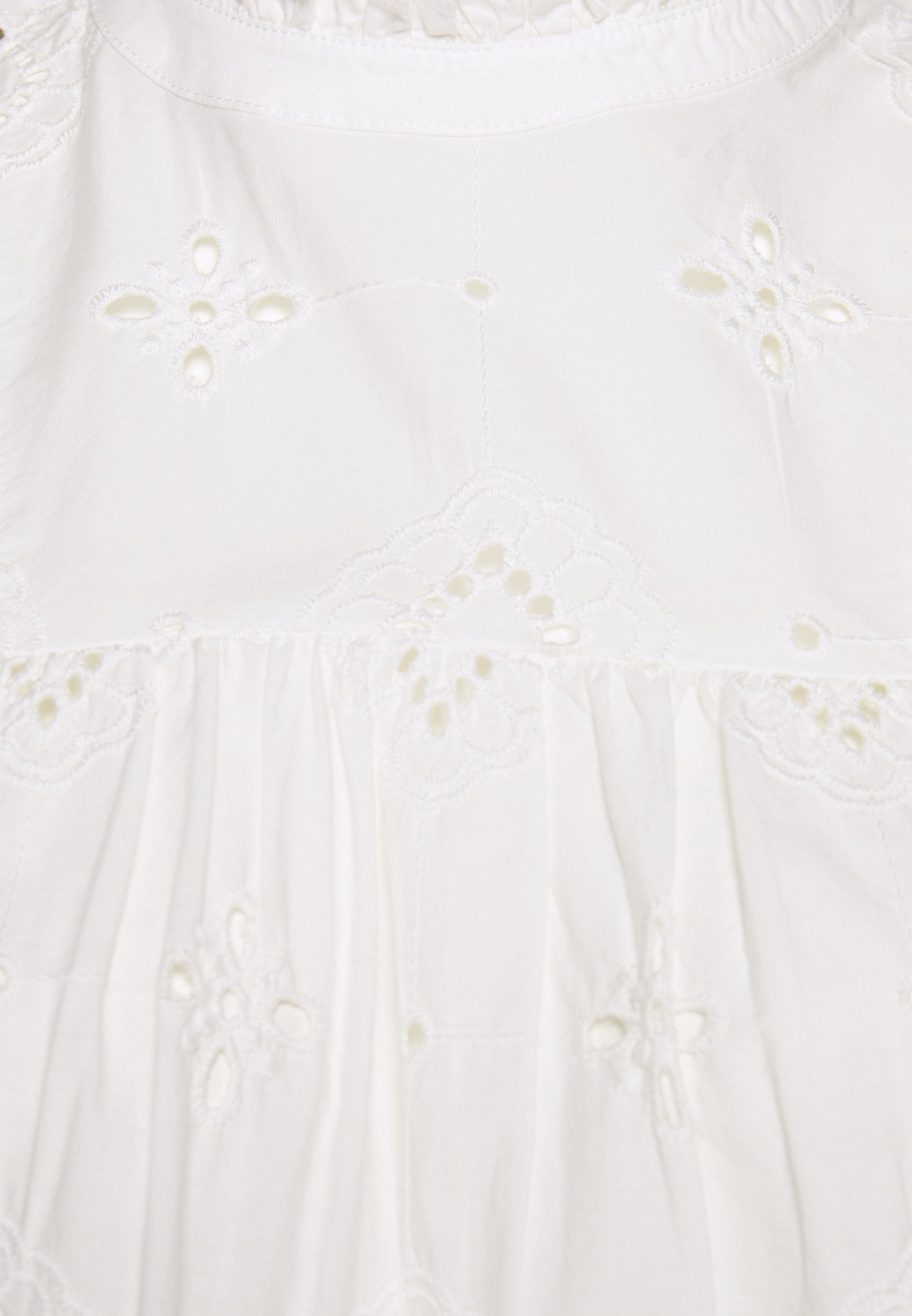 Dorothy Perkins Petite Broderie Shell - Bluser Ivory