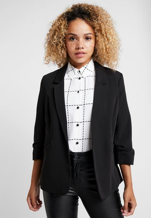 ROUCHED SLEEVE - Blazer - black