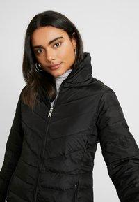 Dorothy Perkins Petite - SUSTAINABLE LONG PADDED JACKET - Short coat - black - 3