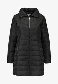 Dorothy Perkins Petite - SUSTAINABLE LONG PADDED JACKET - Short coat - black - 4