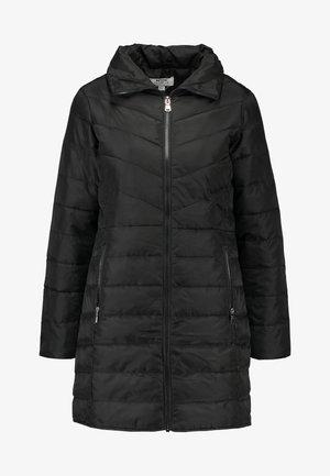SUSTAINABLE LONG PADDED JACKET - Manteau court - black