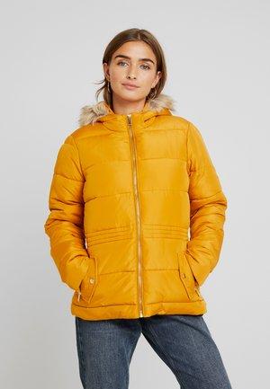 PADDED JACKET - Winter jacket - ochre