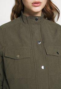 Dorothy Perkins Petite - RELAXED SHACKET - Lett jakke - khaki - 5