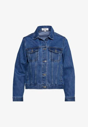 PETITES JACKET - Denim jacket - indigo