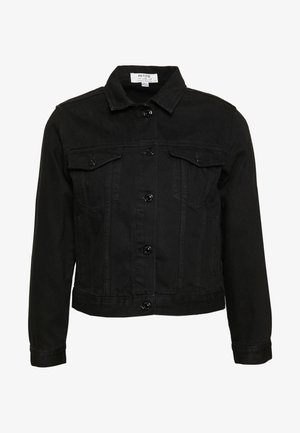 PETITES JACKET - Giacca di jeans - black