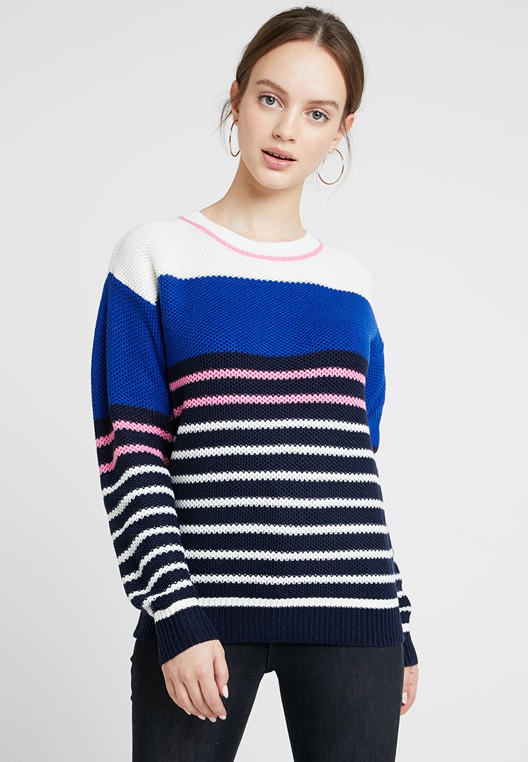 Dorothy Perkins Petite - STRIPE WITH TIPPING - Trui - multi