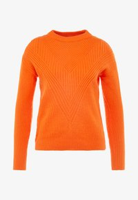 Dorothy Perkins Petite - MID GAUGE ROUND NECK JUMPER - Jersey de punto - orange - 3