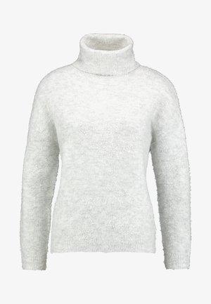 BOUCLE ROLL NECK - Trui - grey