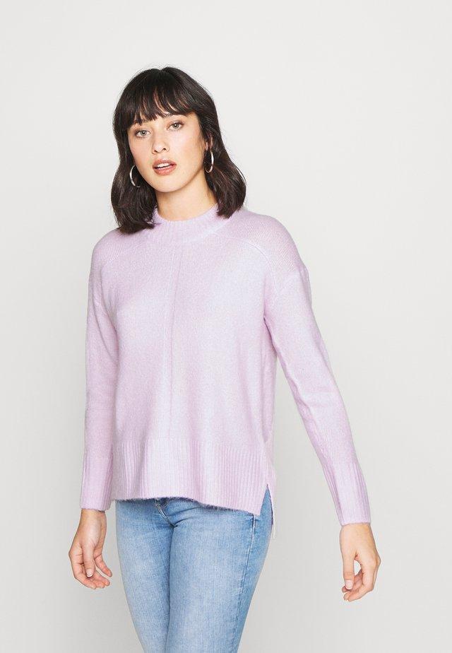 STEP HEM MID GAUGE JUMPER - Stickad tröja - lilac