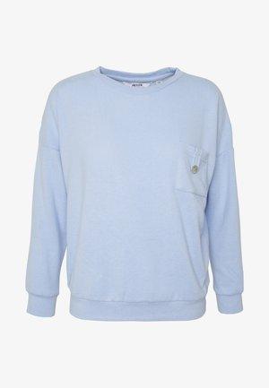 BRUSHED POCKET  - Svetr - pale blue