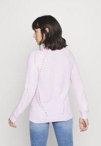 Dorothy Perkins Petite - STITCH INTEREST JUMPER - Jersey de punto - blush - 2