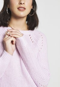Dorothy Perkins Petite - STITCH INTEREST JUMPER - Jersey de punto - blush - 5