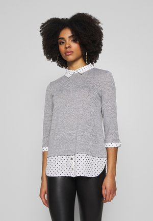 PETITE SPOT 2 IN 1 - Jumper - mottled grey