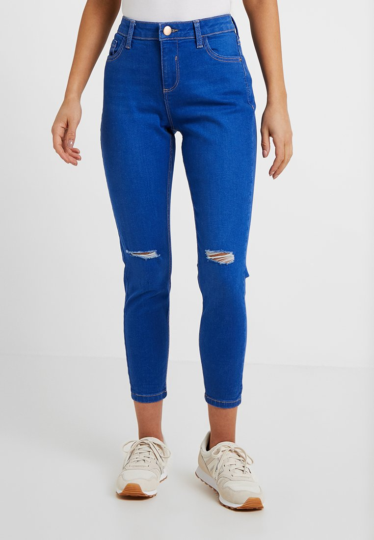 Dorothy Perkins Petite - DARCY - Jeans Skinny Fit - bright blue