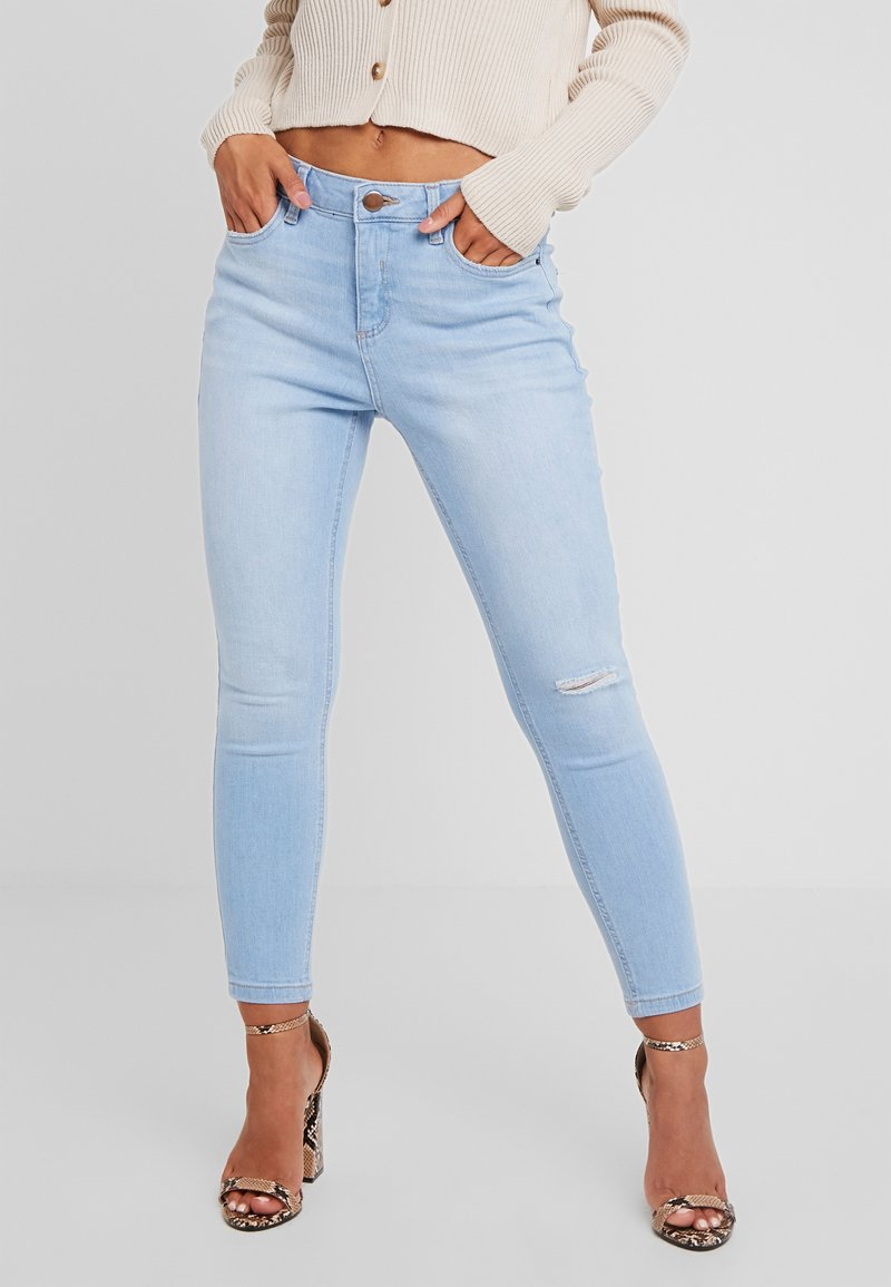 Dorothy Perkins Petite - PREMIUM DARCY - Jeans Skinny Fit - sky blue