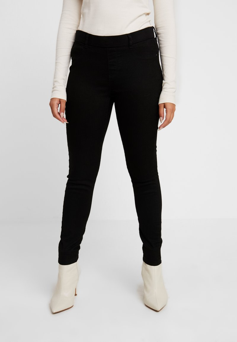 Dorothy Perkins Petite - BLACK EDEN - Jeans Slim Fit - black