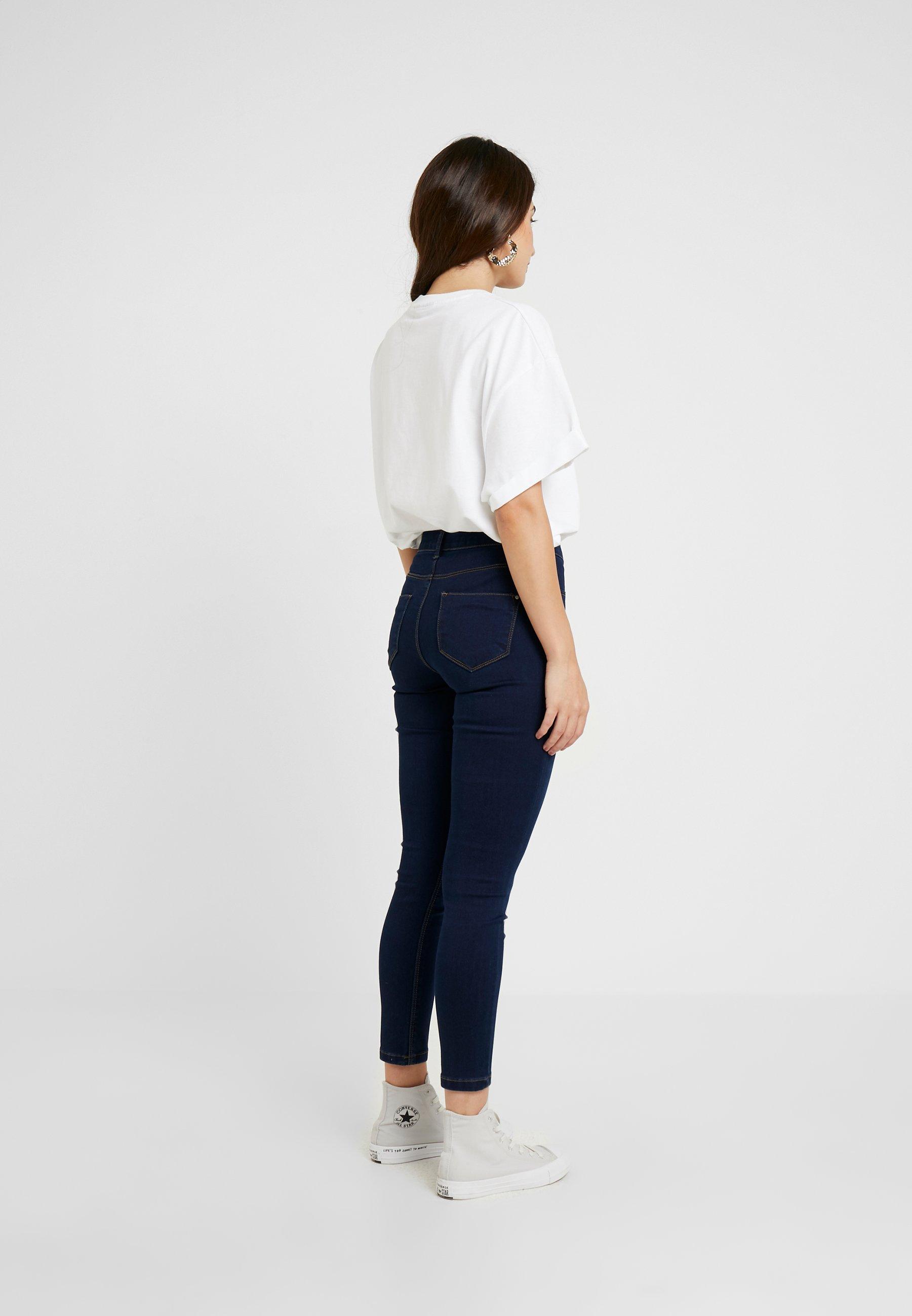 Dorothy Perkins Petite FRANKIE - Pantaloni indigo
