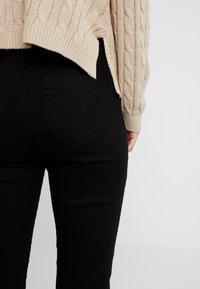 Dorothy Perkins Petite - EDEN HIGH WAIST - Jeans Skinny Fit - black - 4