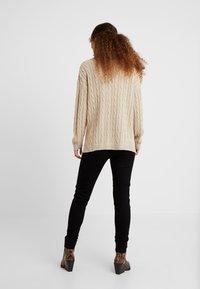 Dorothy Perkins Petite - EDEN HIGH WAIST - Jeans Skinny Fit - black - 2