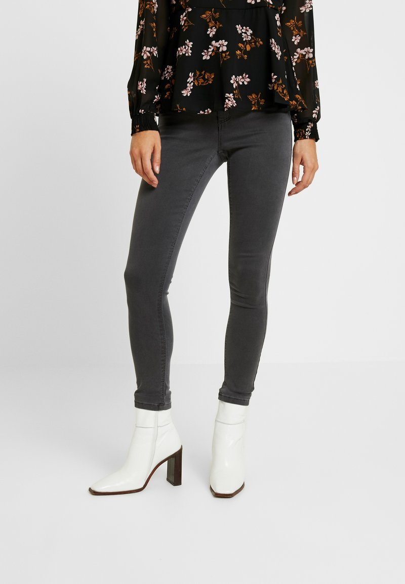Dorothy Perkins Petite - FRANKIE - Jeans Skinny - charcoal