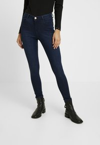 Dorothy Perkins Petite - SHAPE AND LIFT RICH - Jeans Skinny Fit - dark wash - 0