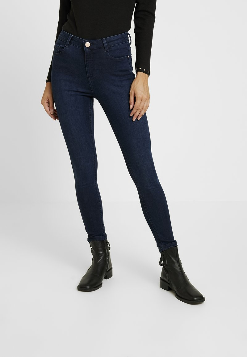 Dorothy Perkins Petite - SHAPE AND LIFT RICH - Jeans Skinny Fit - dark wash
