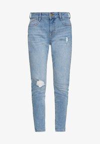 Dorothy Perkins Petite - HARPER  - Jeans Skinny Fit - light wash denim - 4