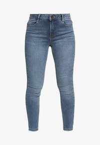 Dorothy Perkins Petite - PETITES MIDWASH SHAPING JEAN - Jeans Skinny Fit - mid wash denim - 3